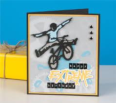 Cricut Birthday Card Project Center Extreme Birthday Card