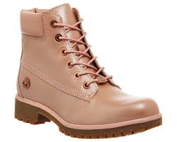 womens timberland boots uk size 3 timberland slim premium 6 inch boots sherbert pink leather ankle