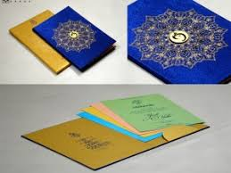 hindu wedding card ghanshyam cards satin cloth wedding cards invitations