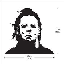 myers halloween vinyl wall art decal