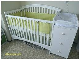 black crib with changing table crib with changing table badger basket doll crib and changing table