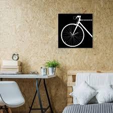 bike wall clock u2013 crowdyhouse