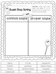 noun sort worksheet worksheets