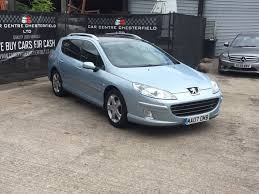 used peugeot 407 used peugeot 407 sw estate 2 0 hdi gt 5dr in chesterfield