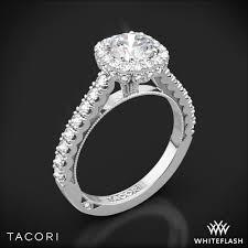 tacori halo engagement rings tacori 37 2 cu bloom cushion halo engagement ring 2673