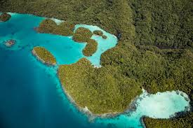 Palau Map A Flight Over Palau With Pacific Mission Aviation The Adventures