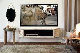 Tv Cabinet Wall Mounted Wood Tv Console With Mount U2013 Flide Co