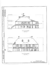 Southern Plantation Style House Plans by Antebellum House Floor Plans