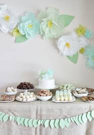 Bridal Shower Decor by Garden Tea Party Bridal Shower
