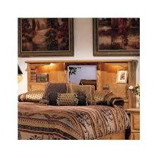 amazon com queen wooden headboard bookcase mirror bedroom