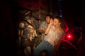 past themes of halloween horror nights a taste of terror surviving zombies roller coasters and really