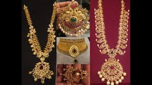 south indian antique gold jewellery