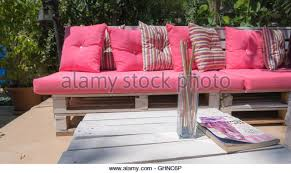 Pink Outdoor Furniture by Outdoor Seating Area Stock Photos U0026 Outdoor Seating Area Stock
