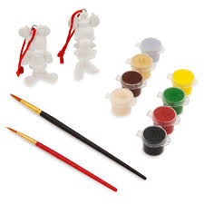 mickey and minnie mouse ornament paint set shopdisney