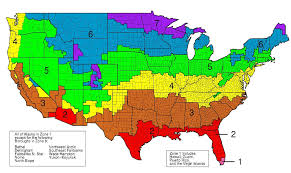 Map Of Alaska And Usa by Usa Climate Zone Map Ashrae Global Cool Cities Alliance