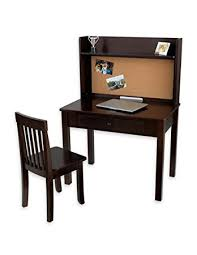 amazon com kidkraft pinboard desk with hutch and chair