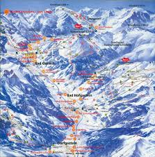 Google Map Directions Driving Maps Of Bad Gastein Ski Resort In Austria Sno