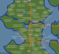 seattle map by district seattle apartments at seattle rentals condos houses and