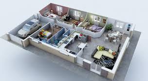 chambre 3d en ligne plan maison 3d 3 chambres immobilier pour tous de en newsindo co