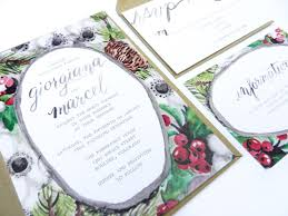 diy watercolor winter wedding invitation suite the postman u0027s knock