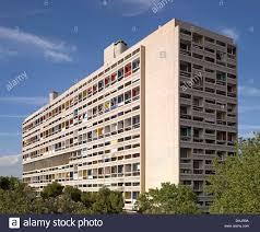 Exterior View Unite D U0027habitation Marseille France Architect Le Corbusier