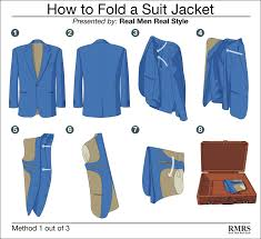 How To Fold Envelope How To Fold A Suit Jacket 3 Ways To Pack Sports Jackets U0026 Suits