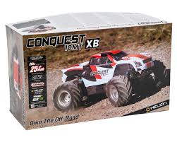 monster jam trucks toys helion rc conquest 10mt xb 1 10 rtr 2wd monster truck hlna0766