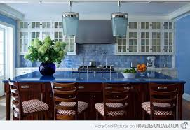 blue kitchen ideas 15 amazingly cool blue kitchen ideas home design lover