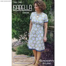 the isabella ladies dress pattern by serendipity studio