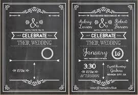chalkboard wedding program template diy wedding invitations our favorite free templates