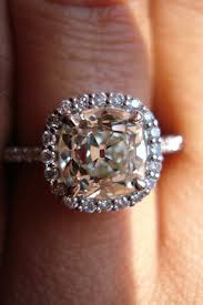 mine cut engagement ring omc mine cut ring antique ring