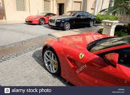 lexus hotel dubai luxury cars stock photos u0026 luxury cars stock images alamy