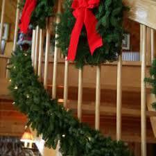 Outdoor Lighted Garland Pre Lit 18 U0027 Balsam Garland Christmas Garland Garlands