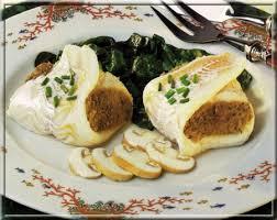 cuisiner filet de merlan filets de merlan farcis aux chignons a vos assiettes recettes