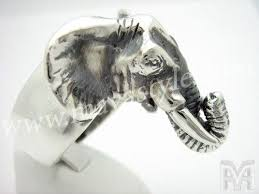 acrylic elephant ring holder images Hand crafted sterling silver elephant ring by mava style jpg