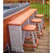 Garden Bar Table And Stools Best 25 Hot Tub Bar Ideas On Pinterest Hot Tubs Hot Tub Deck