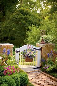 pictures of a garden choose the perfect garden gate southern living