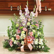 nyc flower delivery and prayers fireside basket pastel flower delivery nyc florist