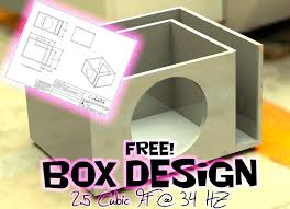 how to make a fiberglass subwoofer box 19 steps with pictures free sub box design 12 sub 2 5 cubic ft at 34 hz