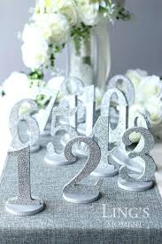 Wedding Table Numbers Ideas Unique Wedding Table Number Ideas Table Design And Table Ideas