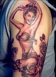 history of pin up and the tattoos they inspired custom