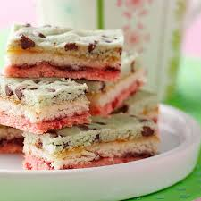 neapolitan bars recipe taste of home