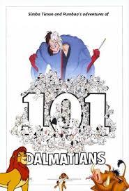 simba timon pumbaa u0027s adventures 101 dalmatians 1961
