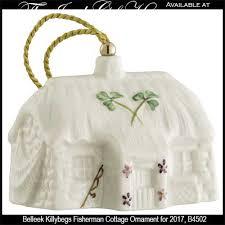 belleek ornament killybegs fishermans cottage