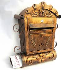 Wall Mount Locking Mailbox Home Depot Antique Mailboxes For Sale Different Types And Materials Of