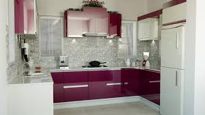 kitchen attractive cool perfect pink modular kitchen ideas and