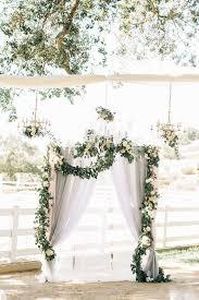 wedding arch garland www littlehillfloraldesigns wedding arch ombre fabric floral