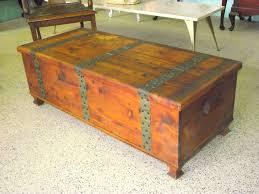 Larkin Coffee Table Larkin Solid Cedar Chest Storage Trunk Coffee Table Rustic Ezol