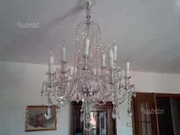 ladari cristallo prezzi ladari cristallo boemia appliques arredamento e casalinghi in
