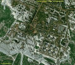 Satellite View Maps Ikonos Satellite Image Oil Facility Siberia Satellite Imaging Corp